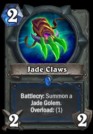 Jade Claws Card