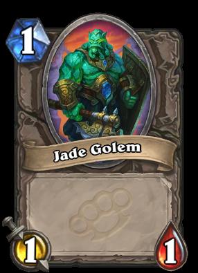 Jade Golem Card