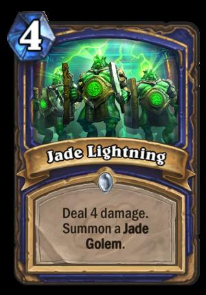 Jade Lightning Card
