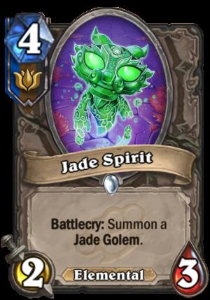 Jade Spirit Card