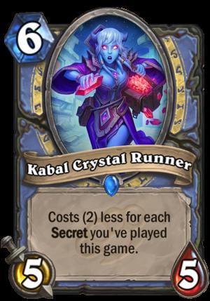 Kabal Crystal Runner Card