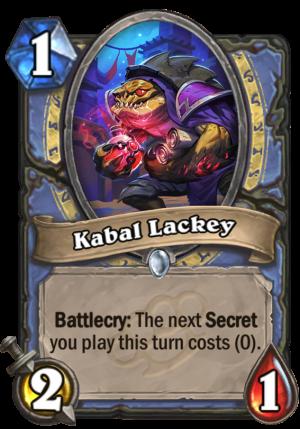 Kabal Lackey Card