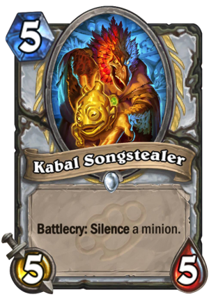 Kabal Songstealer Card