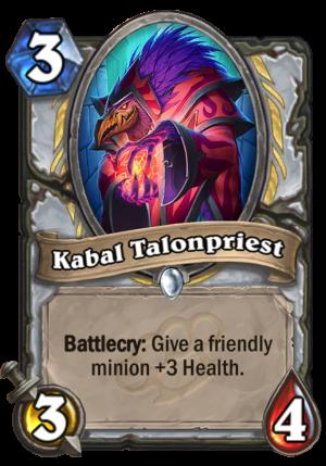 Kabal Talonpriest Card