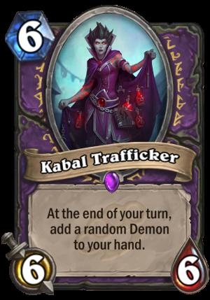 Kabal Trafficker Card