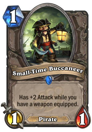Small-Time Buccaneer Card