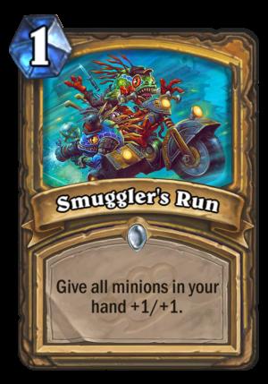 Smuggler's Run Card