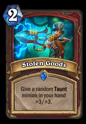 Stolen Goods Card