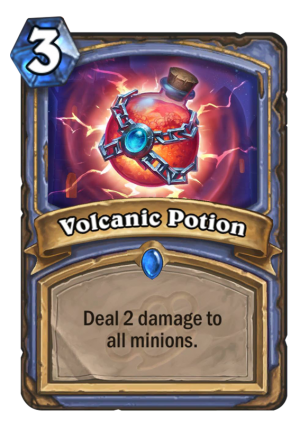Volcanic Potion Card