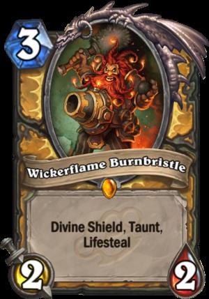 Wickerflame Burnbristle Card