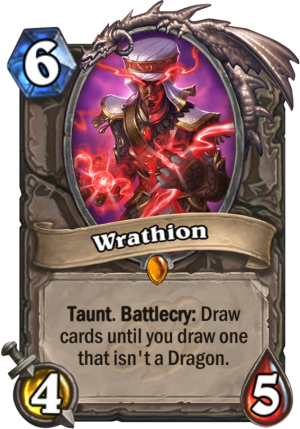 Wrathion Card