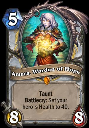 Amara, Warden of Hope Card