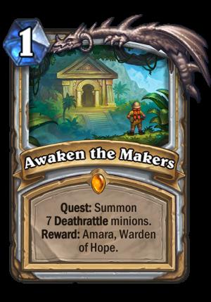 Awaken the Makers Card