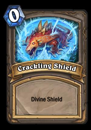 Crackling Shield Card