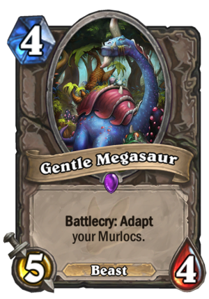 Gentle Megasaur Card