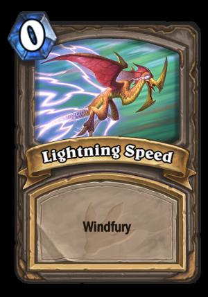 Lightning Speed Card