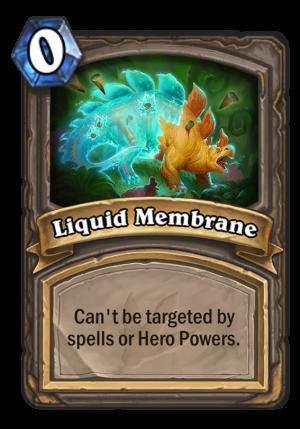 Liquid Membrane Card