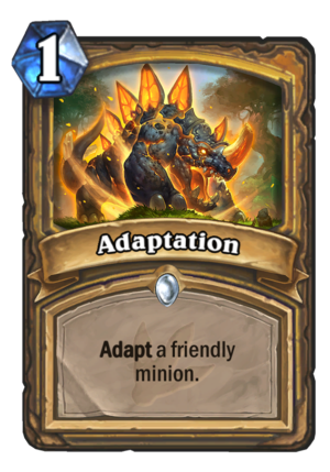 Adaptation Card