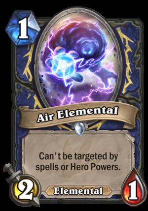 Air Elemental Card