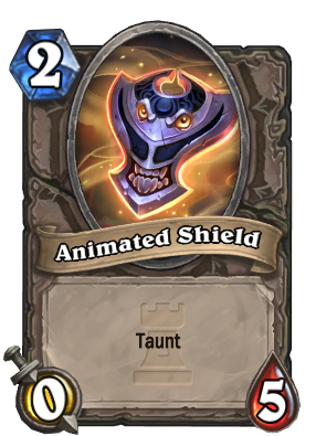 Animated Shield Card