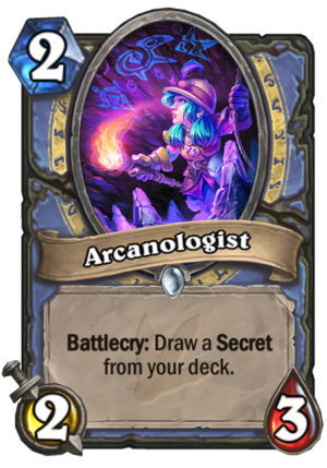 Arcanologist Card