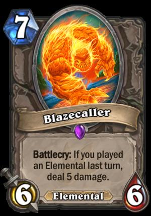 Blazecaller Card