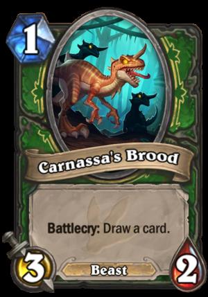 Carnassa's Brood Card