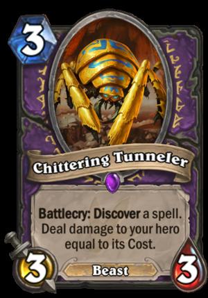 Chittering Tunneler Card