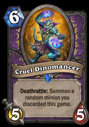 Cruel Dinomancer Card