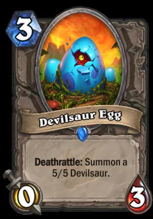 Devilsaur Egg Card