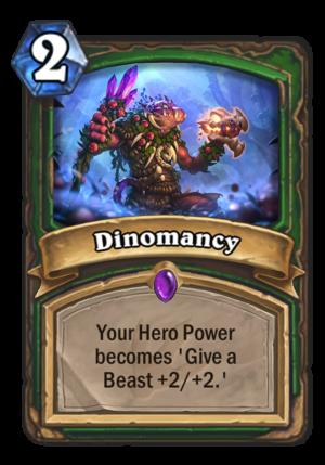 Dinomancy Card