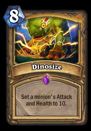 Dinosize Card