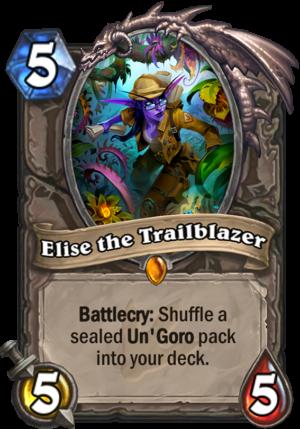 Elise the Trailblazer Card