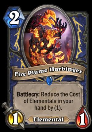 Fire Plume Harbinger Card