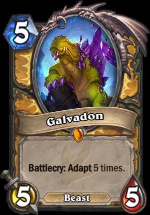 Galvadon Card