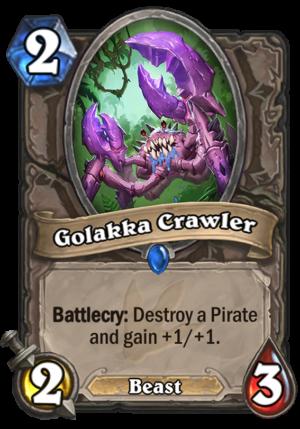 Golakka Crawler Card