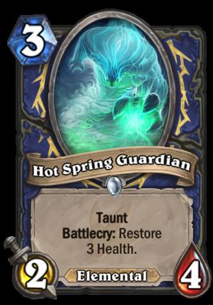 Hot Spring Guardian Card