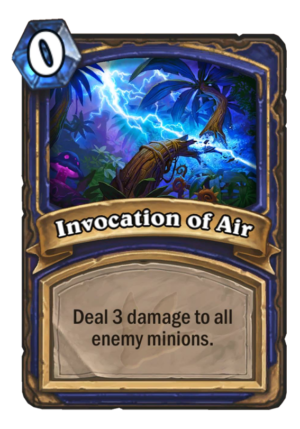 Invocation of Air Card