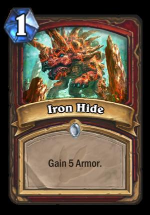 Iron Hide Card