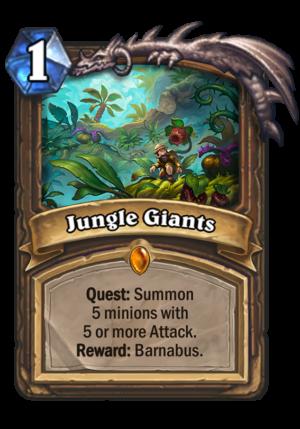 Jungle Giants Card