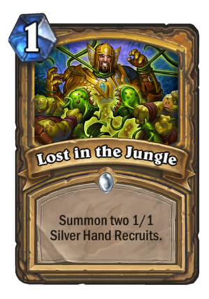 Lost in the Jungle Card