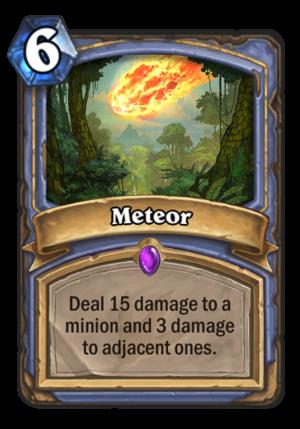 Meteor Card