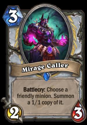 Mirage Caller Card