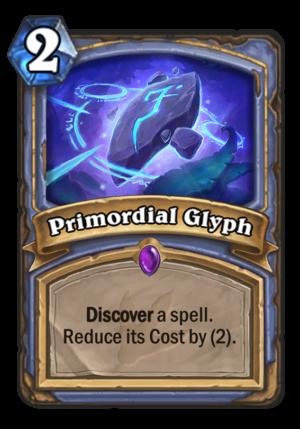 Primordial Glyph Card