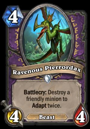 Ravenous Pterrordax Card