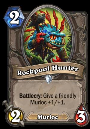 Rockpool Hunter Card