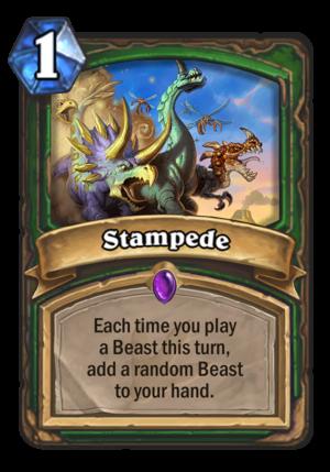 Stampede Card
