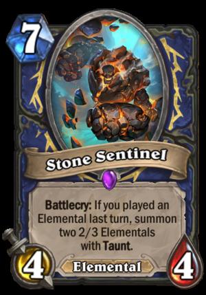 Stone Sentinel Card