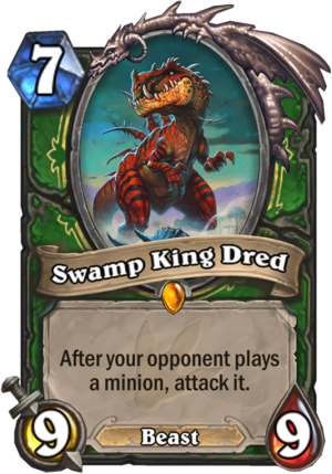 Swamp King Dred Card