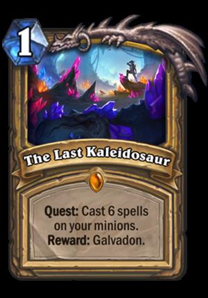 The Last Kaleidosaur Card